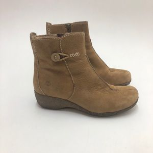 Timberland Leather Ankle Boots Size 9.5